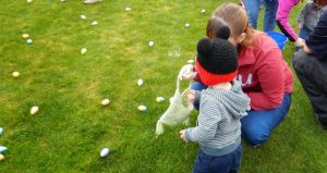 Easter egg hunt.